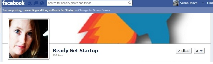 Ready Set Startup Facebook page name