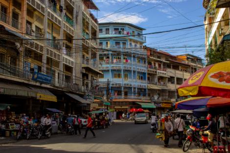 Phnom Penh, Cambodia where Jay is based.